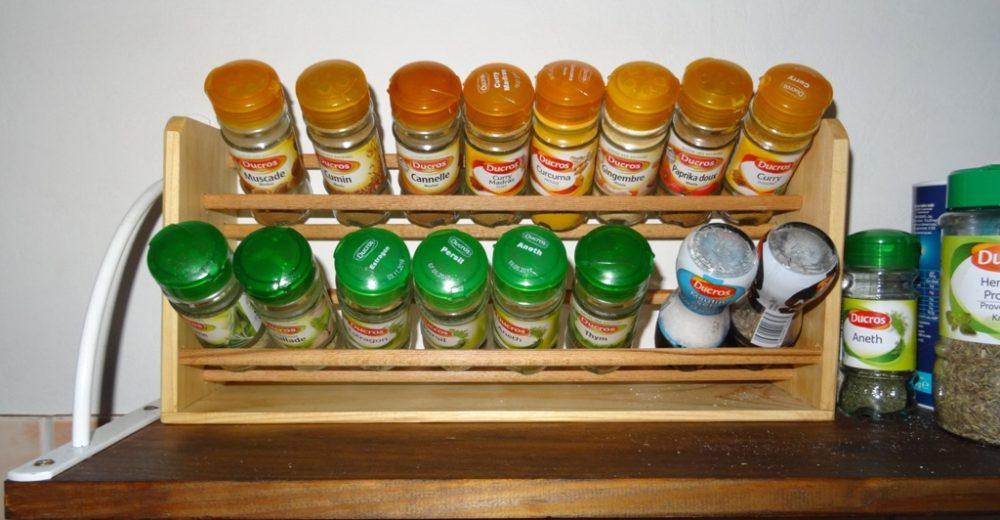 L'étagère à épices