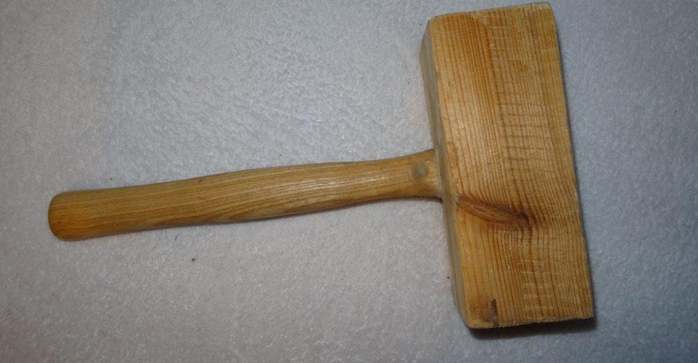 Mon maillet en bois