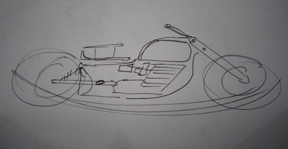 Moto à bascule 1/3 – Le chassis