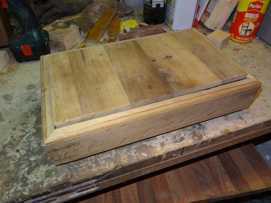 coffret bois chêne