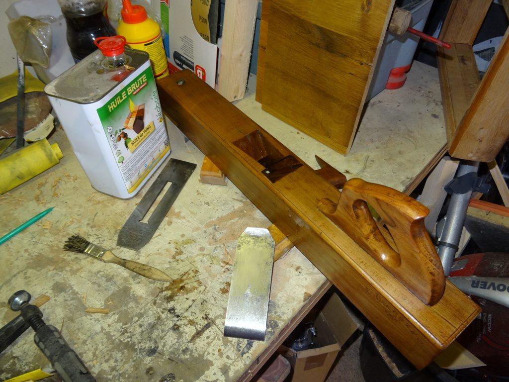 varlope en bois restauration