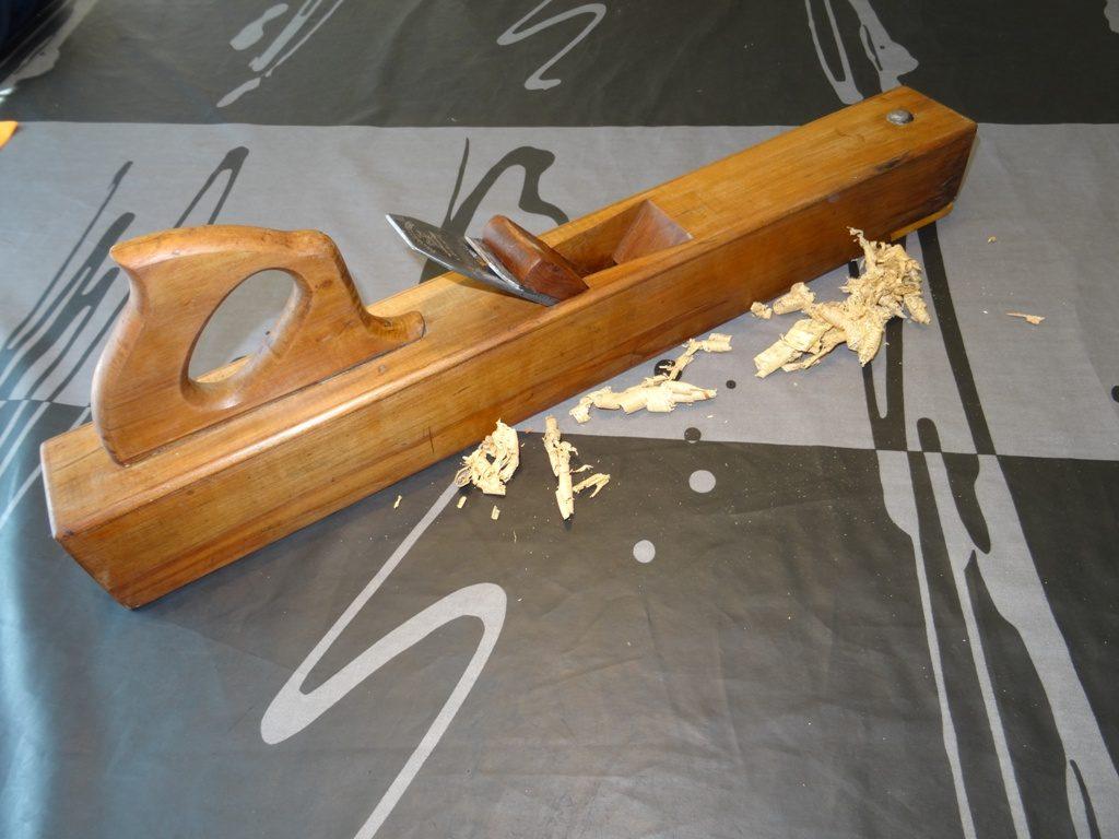 varlope en bois restaurée