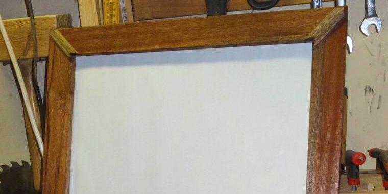 Un cadre photo en bois de récup'